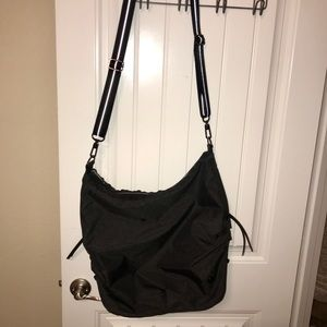 Dark Gray Lululemon Convertible Gym Bag